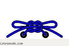 moins cher 076b7 83fc2 Noeud de lacet standard   Lesnoeuds.com
