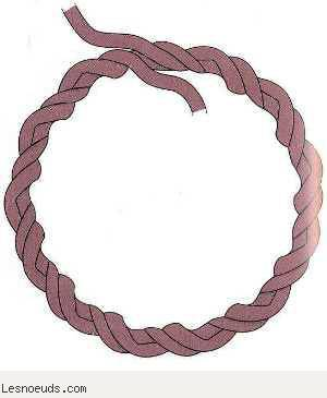 Petit anneau de cordage